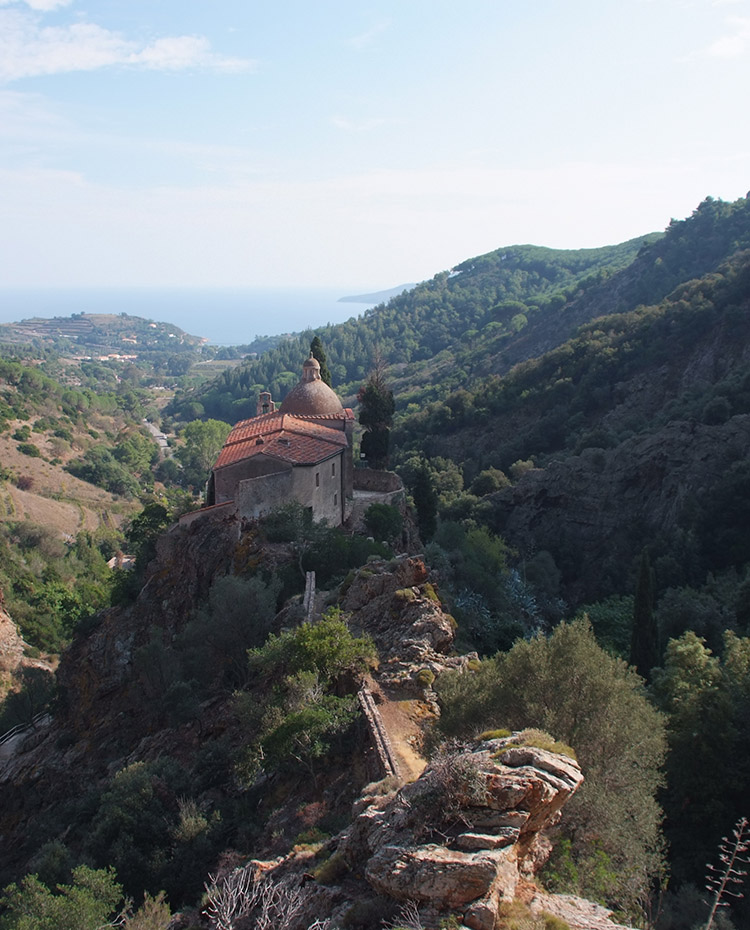 The B&B Casale di Monserrato on Elba Island